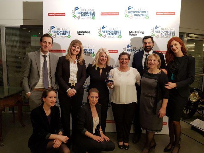 Βραβείο για τα 14 έτη συνεισφοράς της στην κοινότητα του Περάματος έλαβε η KPMG