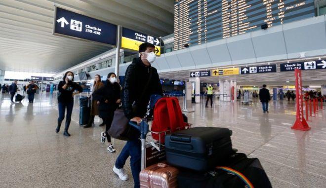 Εικόνα από το αεροδρόμιο Φιουμιτσίνο στην Ρώμη