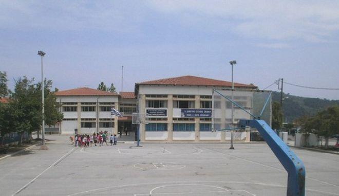 Σκιάθος: Επιχείρηση απεγκλωβισμού μαθητών δημοτικού από το σχολείο