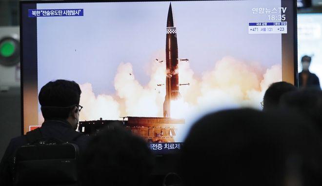 Η Βόρεια Κορέα εκτοξεύει πυραύλους και εκνευρίζει τις ΗΠΑ