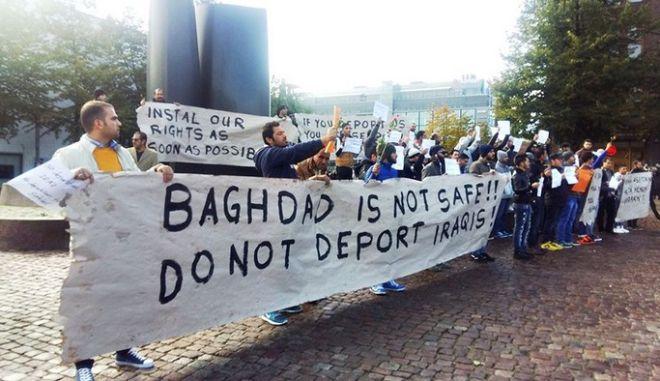 Σκανδιναβική 'φιλοξενία': Το Ελσίνκι ψάχνει τρόπο να στείλει πίσω στην 'κόλαση' Ιρακινούς μετανάστες