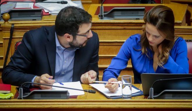 Εφη Αχτσιόγλου και Νάσος Ηλιόπουλος