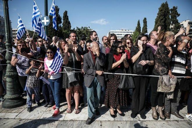 Μαθητική παρέλαση για τον εορτασμό της εθνικής επετείου της 28ης Οκτωβρίου, Αθήνα