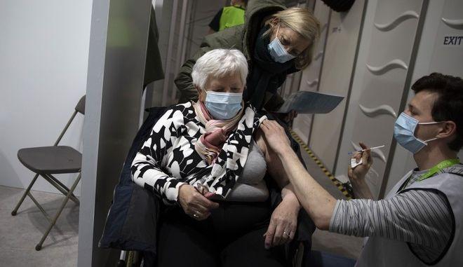 Εμβολιασμός στο Βέλγιο