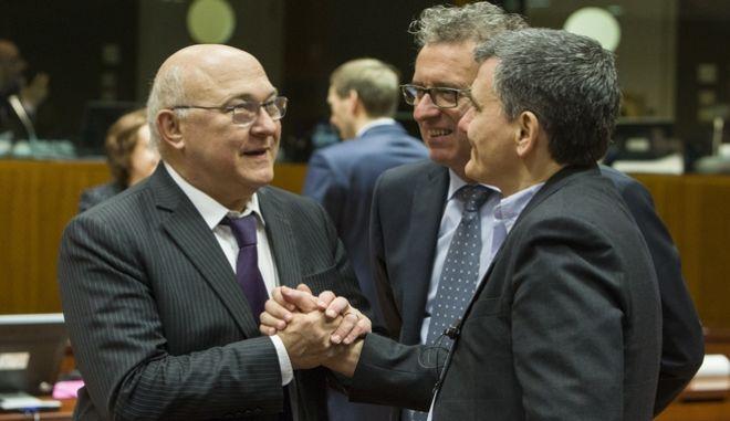 Συνεδρίαση του ECOFIN στις Βρυξέλλες την Τρίτη 8 Μαρτίου 2016. (EUROKINISSI/ΕΥΡΩΠΑΪΚΗ ΕΝΩΣΗ)