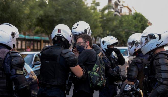 Συλλήψεις διαδηλωτών