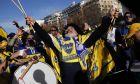 """Οπαδοί της Μπόκα Τζούνιορς στη Μαδρίτη για τον τελικό του Copa Libertadores με την """"μισητή"""" Ρίβερ"""