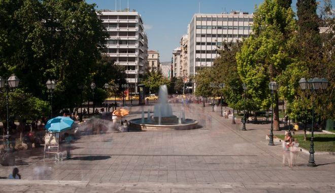 Η πλατεία Συντάγματος