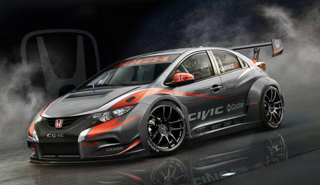Η Honda αποκαλύπτει το νέο Civic για το WTCC 2014
