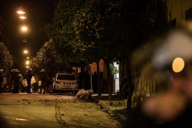 Ανακατάληψη του κτηρίου στον αριθμό 45 της οδού Ματρόζου, στο Κουκάκι, από αντιεξουσιαστές το Σάββατο 11 Ιανουαρίου 2020. (EUROKINISSI/ΤΑΤΙΑΝΑ ΜΠΟΛΑΡΗ)
