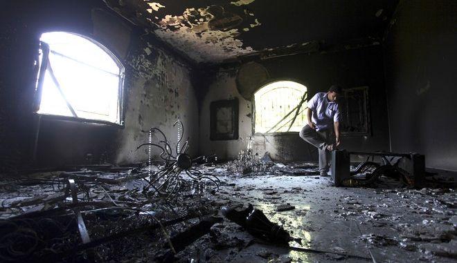 """Κάθειρξη 22 ετών στον """"εγκέφαλο"""" της επίθεσης στο προξενείο των ΗΠΑ στη Λιβύη"""