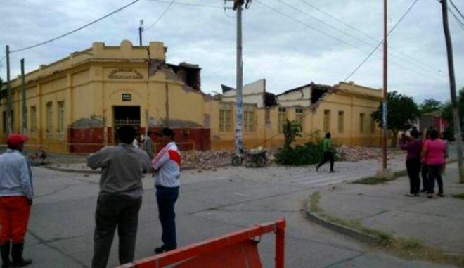 Σεισμός 6,2 βαθμών στην Αργεντινή