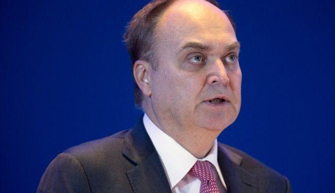 Ο πρεσβευτής της Ρωσίας στις ΗΠΑ, Ανατόλι Αντόνοβ