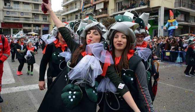 Καρναβάλι της Πάτρας την Κυριακή 26 Φεβρουαρίου 2017. (EUROKINISSI)