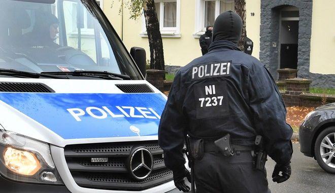 Γερμανοί αστυνομικοί - φωτογραφία αρχείου