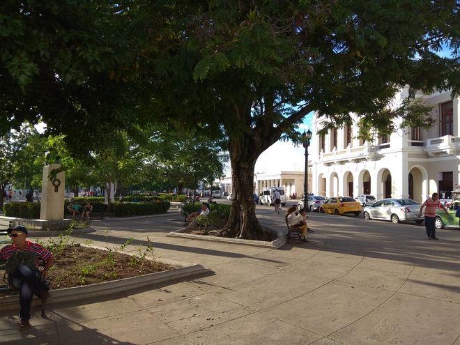 Η κεντρική πλατεία της Σάντα Κλάρα