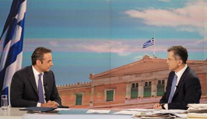 Από παλαιότερη συνέντευξη του Κυριάκου Μητσοτάκη στον Γιώργο Αυτιά.