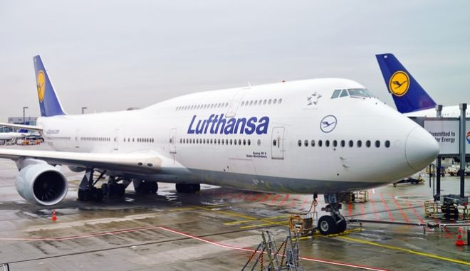 Αεροπλάνο της Lufthansa