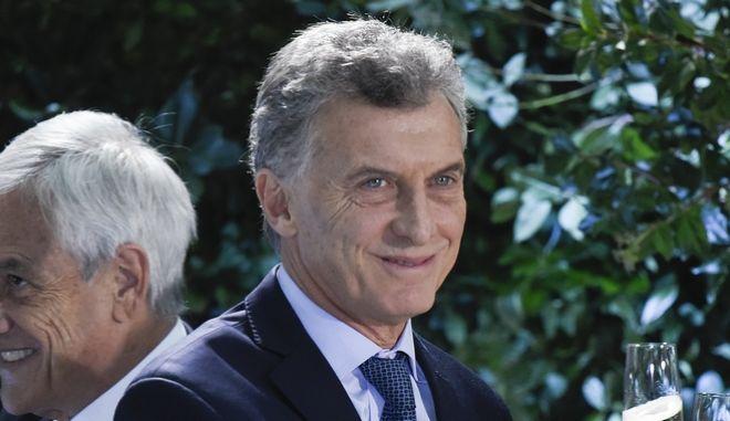 Ο πρόεδρος της Αργεντινής Μαουρίτσιο Μάκρι