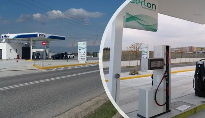 Ξεκίνησε να λειτουργεί το πρώτο πρατήριο φυσικού αερίου κίνησης της Ellinoil