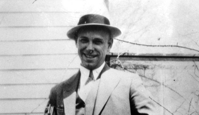 Ο Τζον Ντίλινγκερ σε φωτογραφία του 1934