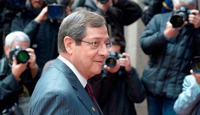 """Τηλεφώνημα Αναστασιάδη στον γγ του ΟΗΕ: """"Τake it or leave it η πρόταση της Κύπρου"""""""
