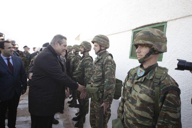 Επίσκεψη του υπ. Εθνικής Άμυνας, Πάνου Καμμένου, με μέλη της Επιτροπής Άμυνας της Βουλής στο Καστελόριζο, Ρω και Στρογγύλη, Δευτέρα 5 Δεκεμβρίου 2016.