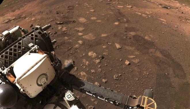 Το διαστημικό ρομποτικό όχημα της NASA, 'Perseverance', σε αποστολή στον Άρη.