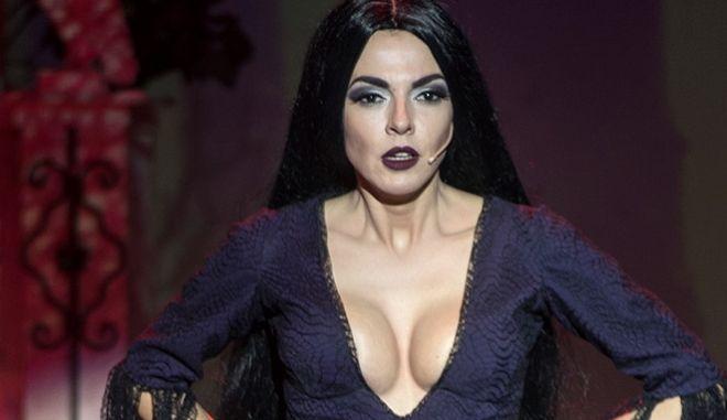 Οικογένεια Addams: Κάπως έτσι η Μαρία Σολωμού 'παρέλυσε' το διαδίκτυο