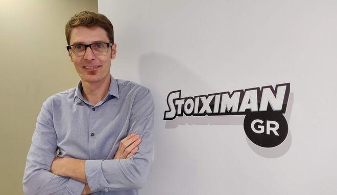 Ο Γιώργος Μοσχέτας, Head of People and Culture της εταιρείας Stoiximam