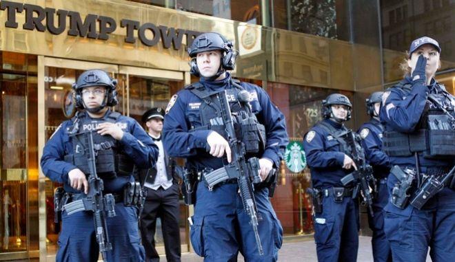 Η Νέα Υόρκη ξόδεψε 24 εκατ. δολάρια για την ασφάλεια του Τραμπ