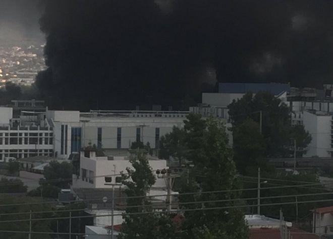 Μεγάλη φωτιά σε εργοστάσιο ανακύκλωσης