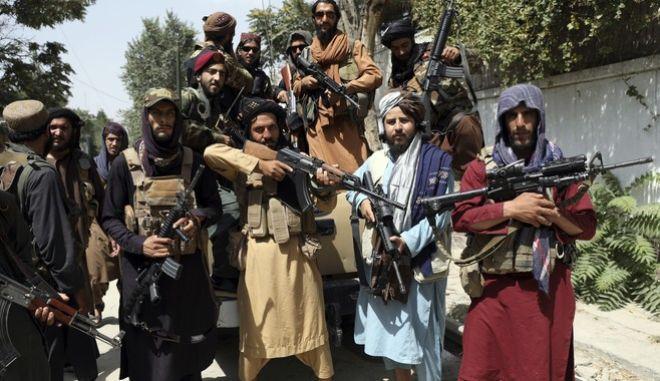 Μαχητές Ταλιμπάν στην Καμπούλ