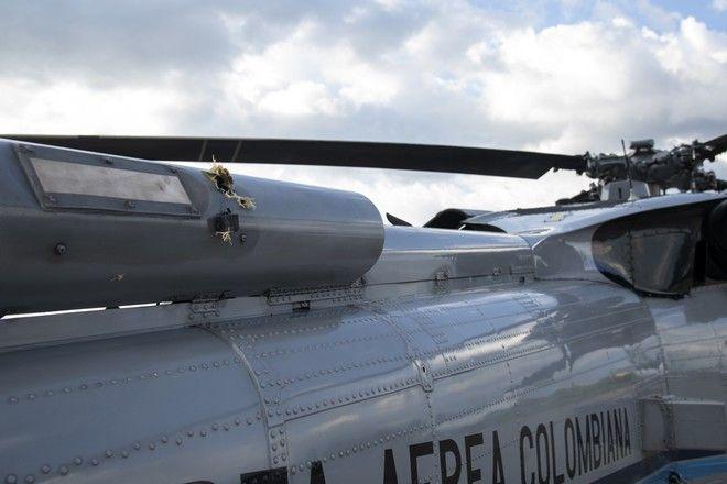 Το ελικόπτερο του προέδρου Ιβάν Ντούκε