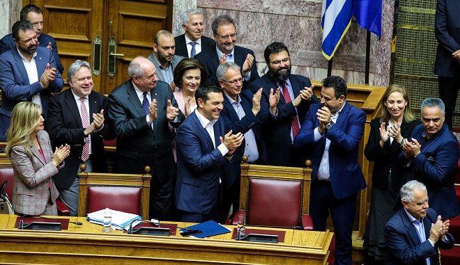 Παροχή ψήφου εμπιστοσύνης στην Κυβέρνηση, την Παρασκευή 10 Μαΐου 2019.