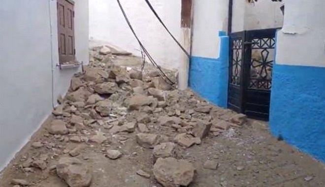 Σεισμός ανοιχτά της Σάμου: Η στιγμή της ισχυρής δόνησης