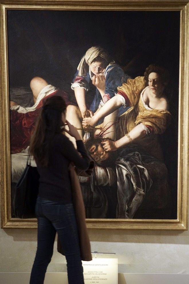 Πίνακες της Αρτεμίζια Τζεντιλέσκι