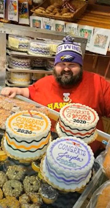 Ο ιδιοκτήτης του φούρνου Hanisch bakery Bill Hanisch