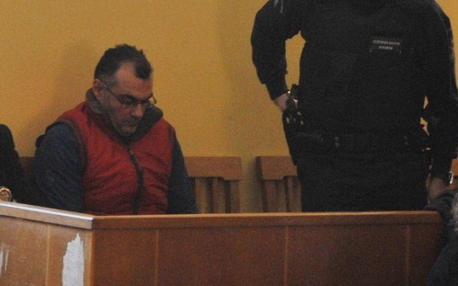 20/01/2010-ΑΜΦΙΣΣΑ-  Δίκη για τον θανάσιμο τραυματισμό του μαθητή Αλέξη Γρηγορόπουλου στις 6 Δεκεμβρίου 2008 στα Εξάρχεια.Στην φωτογραφία οι κατηγορούμενοι αστυνομικοί Επαμεινώνδας Κορκονέας και Βασίλης Σαραλιώτης,Τετάρτη 20 Ιανουαρίου 2009 (EUROKINISSI-ΑΝΤΩΝΗΣ ΝΙΚΟΛΟΠΟΥΛΟΣ)