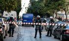 Επιχείρηση της αστυνομίας σε υπό κατάληψη κτήρια, στο Κουκάκι