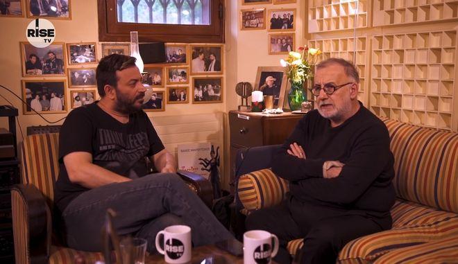 Τελευταία τηλεοπτική συνέντευξη Μικρούτσικου