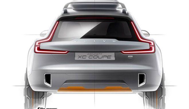 To Concept XC Coupé δείχνει το ντιζάιν των μελλοντικών μοντέλων Volvo