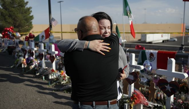 Στους 22 ανήλθαν οι νεκροί στο Ελ Πάσο του Τέξας