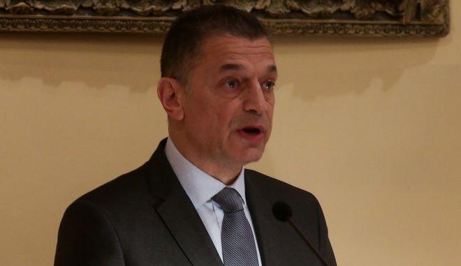 Ο υφυπουργός Άμυνας Αλκιβιάδης Στεφανής