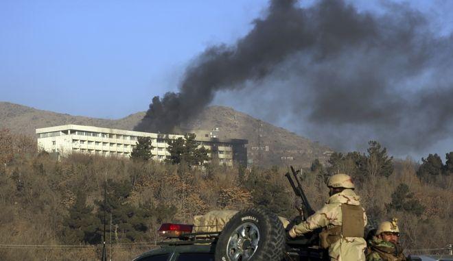 Τρομοκρατική επίθεση στο ξενοδοχείο Intercontinental της Καμπούλ