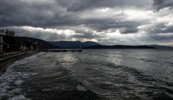 Συνεχίζεται για μία ακόμα ημέρα ο άσχημος καιρός στην περιοχή της Μαγνησίας