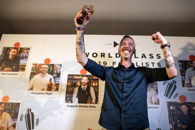 O ταλαντούχος Bartender από το The Clumsies αναδείχθηκε ως ο Έλληνας Bartender of the Year 2019