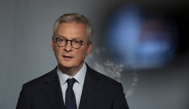 O Γάλλος υπουργός Οικονομικών, Μπρουνό Λεμέρ