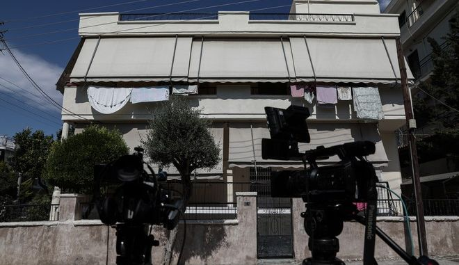 Το σημείο στην Αγία Βαρβάρα όπου δολοφονήθηκε η 64χρονη