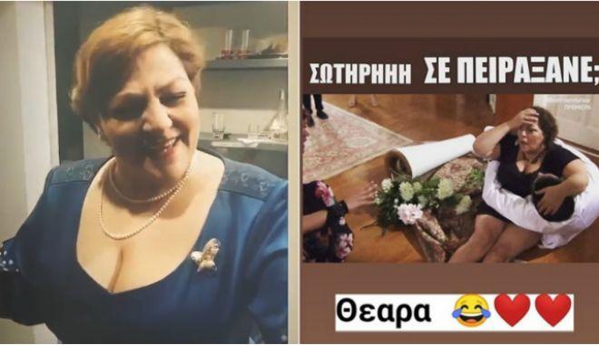 """Βίκυ Σταυροπούλου για την ακραία φάρσα του Πούμπουρα: """"Μη βρίζετε την κόρη μου"""""""